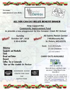 Barefoot Children Ministries Spaghetti Dinner