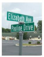 New All Saints Street Names