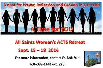 All Saints Women's ACTS Retreat