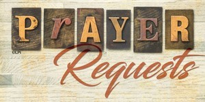 Prayer Requests We Create