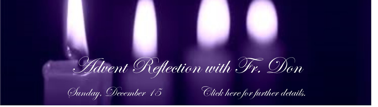 Advent Reflection 2019