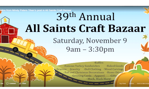 All Saints Craft Bazaar