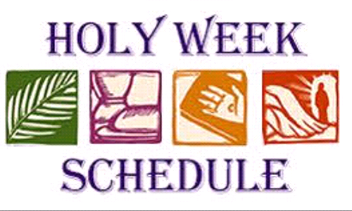 Holy Week at All Saints