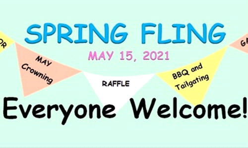 SPRING FLING - Saturday, May 15